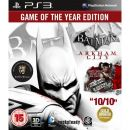BATMAN ARKHAM CITY GAME OF THE YEAR EDITION PS3 ���