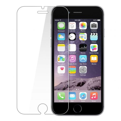 TEMPERED GLASS PROTECTOR INOS LUMINOUS IPHONE 6 6S / 7 PLUS GREEN 0.33MM 2.5D