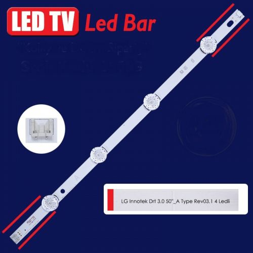 "LED BAR ΓΙΑ LG LED TV LG INNOTEK LED BAR DRT 3.0 50"" A TYPE"