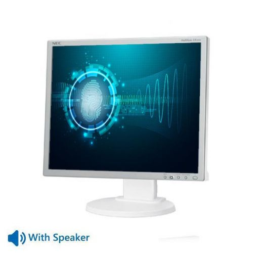 "Used Monitor EA190M TFT/NEC/19""/1280 x 1024/White/With Speakers/D-SUB & DVI-D & DisplayPort"