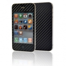Screen Protector Gecko Apple iPhone 4 Carbon Μαύρο Full Pack