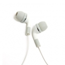 Hands Free Stereo Gecko Trance XD Remote Apple iPhone 4 3.5mm Λευκό